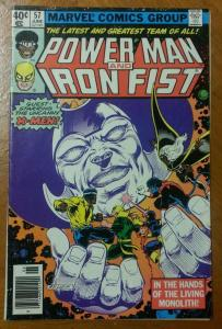 POWER MAN and IRON FIST #57, VG, Luke Cage 1974 1979, X-Men,more Marvel in store