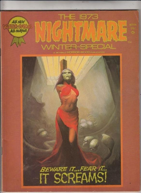 Nightmare Magazine Winter Special 1 VF/NM 9.0 strict High-Grade Free US  C'ville