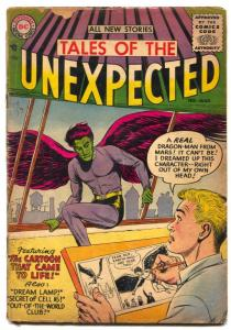 Tales of the Unexpected #1 1956- DC missing centerfold
