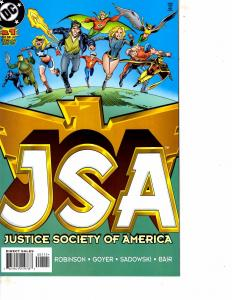 Lot Of 2 DC Comic Book Justice Society of America #1 and Animal Man #4 ON13