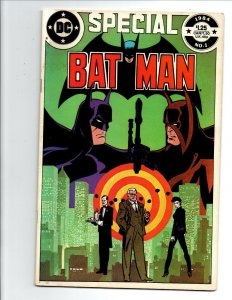 Batman Special #1 - 1st appearance The Wrath - Fine