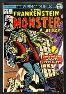 The Frankenstein Monster #14 (1975)
