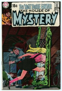 House of Mystery 182 Oct 1969 NM- (9.2)