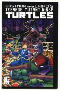 TEENAGE MUTANT NINJA TURTLES #9-1986-early issue NM-