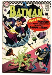 BATMAN #190 Penguin issue VG DC COMICS comic book 1967