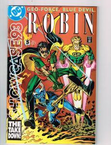 Showcase 93 (1993) #5 DC Comic Book Robin Blue Devil Geo-Force HH2
