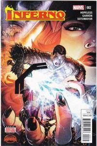 Inferno (2015 series) #2, NM (Stock photo)