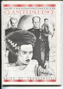 Grandelinquence #1 Spring 1987-1st issue-Bride of Frankenstein-UK-VF