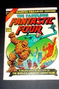 Marvel Treasury Edition Fantastic Four JACK KIRBY FN/VF