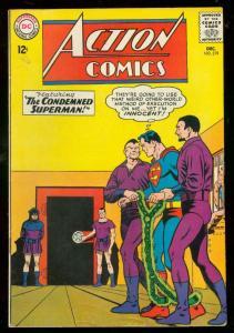 ACTION COMICS #319 1964-SUPERMAN-DC COMICS-SUPERGIRL VG