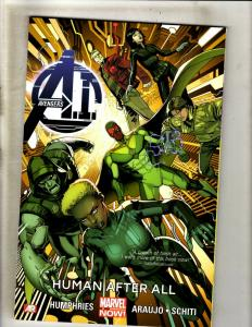 Human After All Avengers A.I. V1 Marvel Comics TPB Graphic Novel Comic Book J361