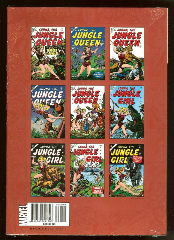 Jungle Adventure Vol. 1 Atlas Era   Marvel Masterworks  Hardcover Factory Sealed