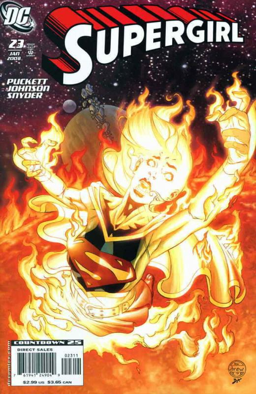Supergirl (4th Series) #23 FN; DC | save on shipping - details inside