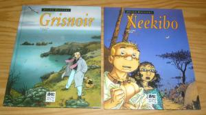 Julien Boisvert HC 1-2 VF/NM complete series - neekibo - grisnoir - hardcovers