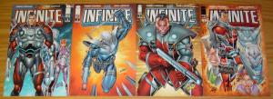 the Infinite #1-4 VF/NM complete series - robert kirkman - rob liefeld 2 3 set