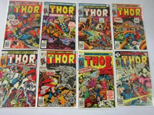 Later Bronze Thor, From:#252-298, 36 Different, Average 6.0/FN (1976-1980)