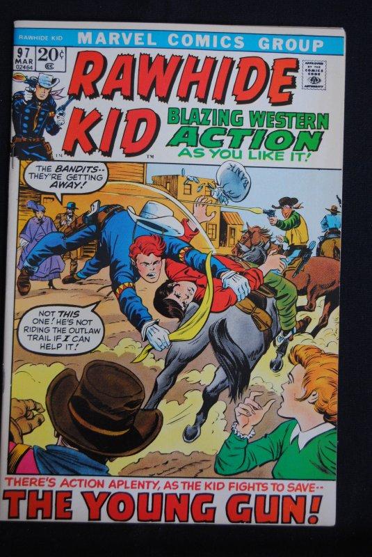 Rawhide Kid #97, 9.2