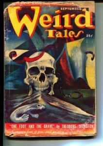 Weird Tales-Pulps-9/1949-Seabury Quinn-Theodore Sturgeon
