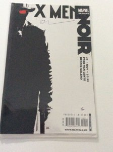 X-MEN:NOIR #1 BW COVER LIMITED SERIES OF 20 COPIES SIGNED BY DENNIS CALERO W/COA