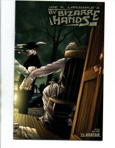 Bizarre Hands #2 Wrap Variant - Joe Lansdale - Horror -  Avatar - (-NM)