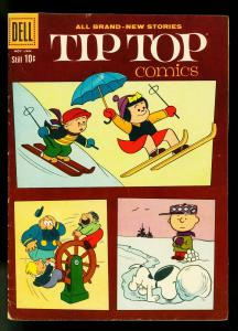 Tip Top Comics #223 1961- Nancy- Peanuts- Charles Schultz- VG+