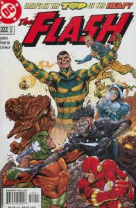Flash (2nd Series) #222 VF/NM; DC | save on shipping - details inside