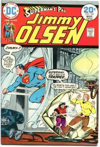 SUPERMAN'S PAL JIMMY OLSEN #163, VF, Before World, Pier 13, 1954, more in st