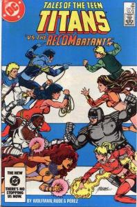 Tales of the Teen Titans #48, VF+ (Stock photo)