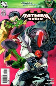 Batman and Robin #24 FN; DC | save on shipping - details inside