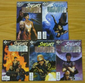 Sheva's War #1-5 VF/NM complete series - christopher moeller - helix 2 3 4 set