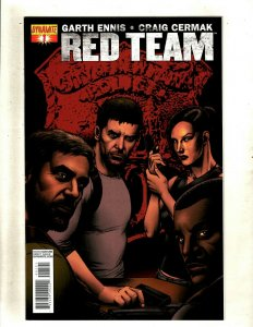 Lot Of 7 Red Team Dynamite Comic Books # 1 2 3 4 5 6 7 Garth Ennis Cermak RP4
