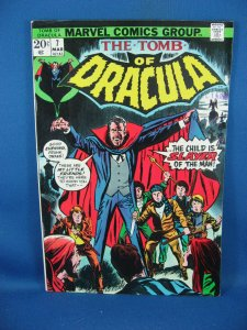 Tomb of Dracula #7 (Mar 1973, Marvel) F VF