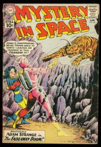 MYSTERY IN SPACE #68 ADAM STRANGE TIGER COVER INFANTINO VG