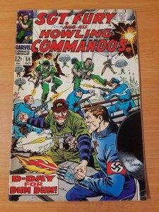 Sgt. Fury #59 ~ FINE - VERY FINE VF ~ (1968, Marvel Comics)