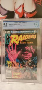 Raiders of the Lost Ark Movie #1 1981 CBCS 9.2
