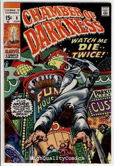 CHAMBER of DARKNESS #6, FN/VF, Horror, Black Magic, 1969, Bronze age
