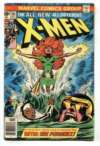 X-MEN #101 Key Marvel issue-Phoenix-comic book-1976 VG