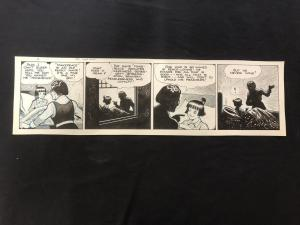 Fred Fox Original Daily Comic Strip Art #11- unpublished?