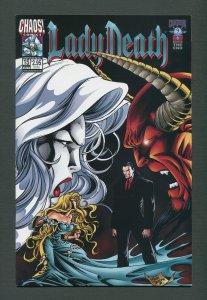 Lady Death #15 (Inferno)  /  9.6 NM - 9.8 NM-MT  /  April  1999