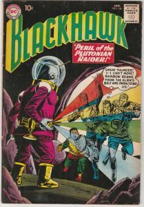 Blackhawk #156 (Jan-61) FN/VF Mid-High-Grade Black Hawk, Chop Chop, Olaf, Pie...