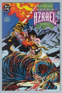 Batman - Sword of Azrael 2  Nov 1992 NM- (9.2)