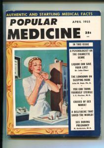 POPULAR MEDICINE #1-01/1955-WITCH DOCTOR-LIQUOR-CLASSIC ISSUE-SOUTHERN STATES-vf