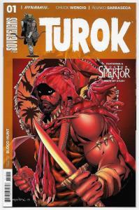 Turok #1 Cvr A (Dynamite, 2017) NM