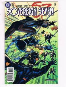 Sovereign Seven #7 VF DC Comics Comic Book Claremont Jan 1996 DE23