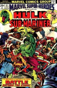 Marvel Super-Heroes (1967 series) #51, Fine+ (Stock photo)