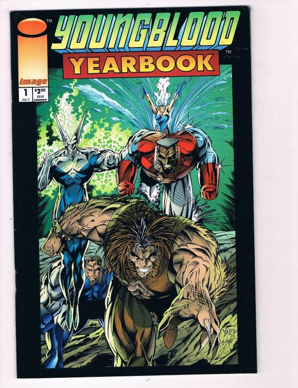 Youngblood Yearbook 1 VF NM Image Comic Book Rob Liefeld Eric Stephenson B99