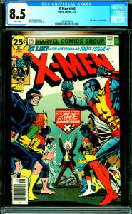 X-Men #100 CGC Graded 8.5 Old X-Men vs. New X-Men