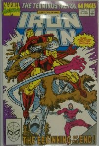 Iron Man ANN #11 DIR - 6.0 FN - 1990