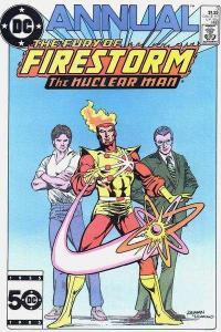 Fury of Firestorm (1982 series) Annual #3, VF+ (Stock photo)