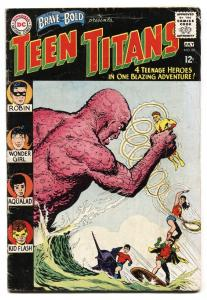 BRAVE AND THE BOLD #60 1st appearance WONDER GIRL-2nd TEEN TITANS